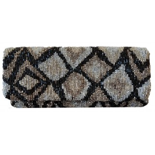 Abstract Diamond Clutch