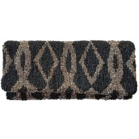 Abstract Diamond Print Clutch