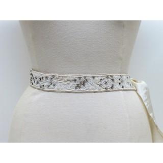 Bead & Crystal Bridal Belt