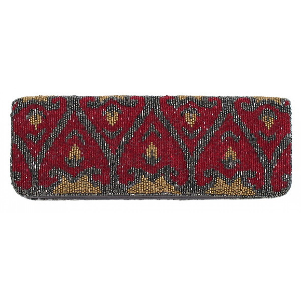Beaded Clutch with Strap