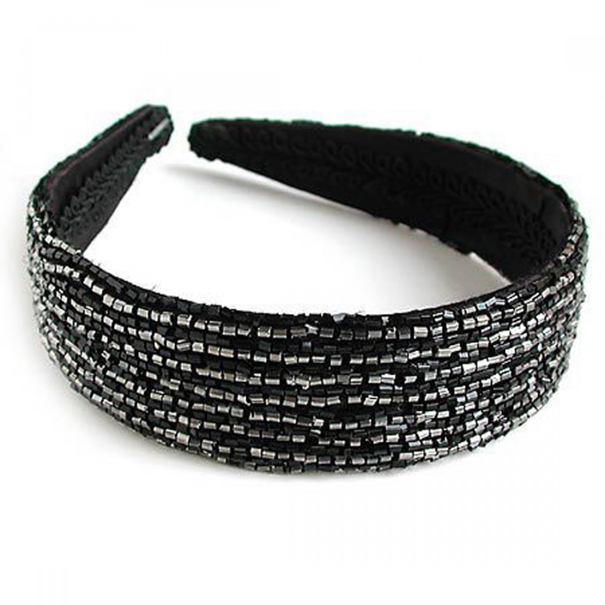 Beaded Wide Head Band