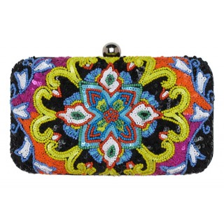 Box Clutch Multi Motif