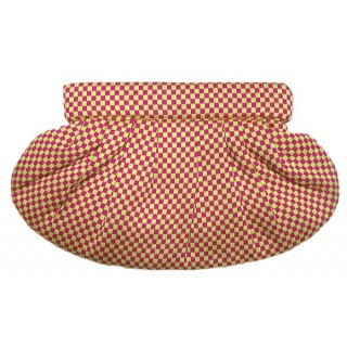 Clutch Bag Checkered Pattern
