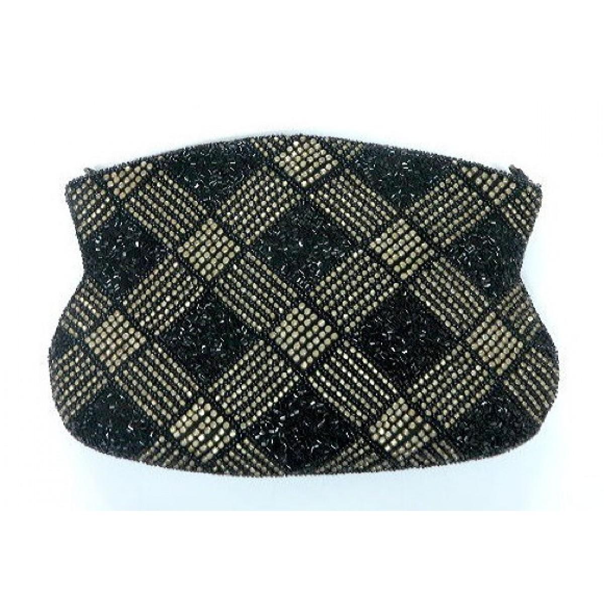 Clutch Basket Weave Beading