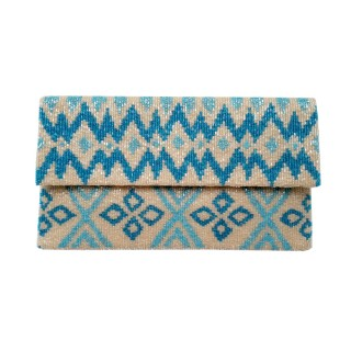 Clutch Ikat Diamonds