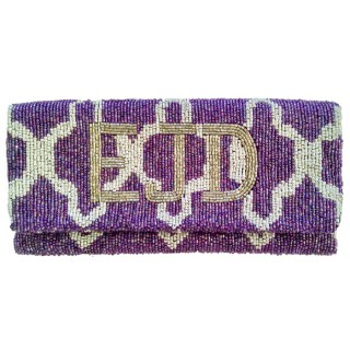 Clutch Mosaic Monogram
