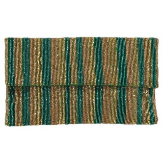 Clutch Stripes with Strap