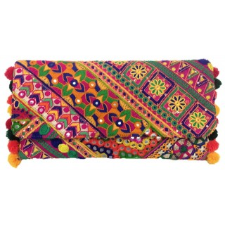 Clutch with Jaipur Embroidery