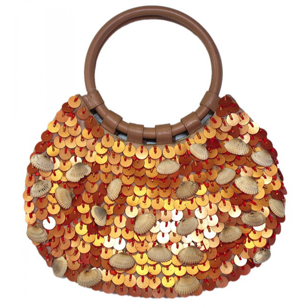 Clutch with Seqin & Seashell