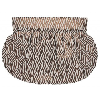 Clutch Zebra Pattern
