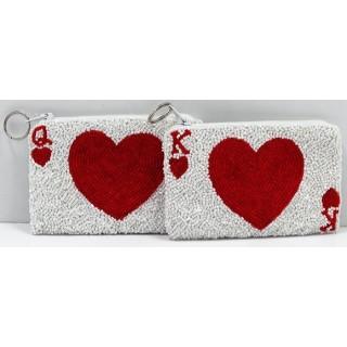 Coin Purse Cards Hearts