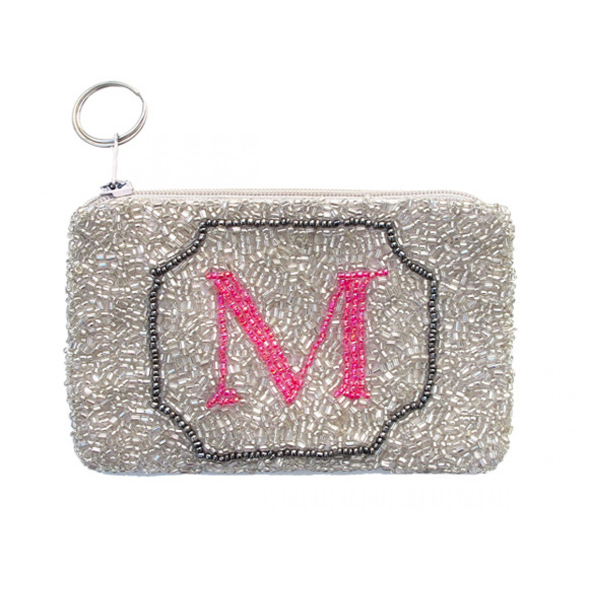 Coin Purse with Letter
