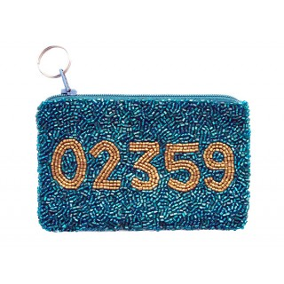 Coin Purse with Zip Code