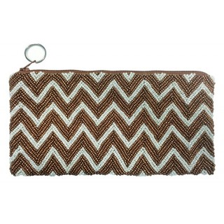 Cosmetic Pouch Chevron