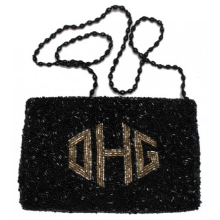 Cosmetic Pouch Gusset Diamond Monogram