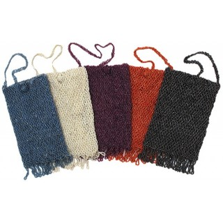 Cross Body Beaded Purse with Fringe