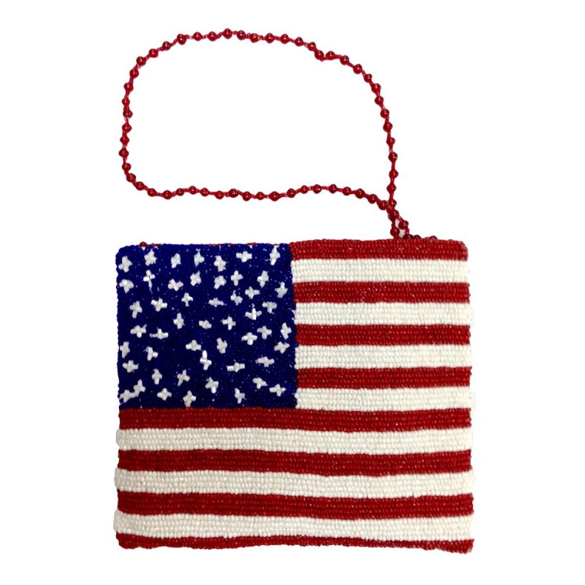Cross Body Pouch American Flag