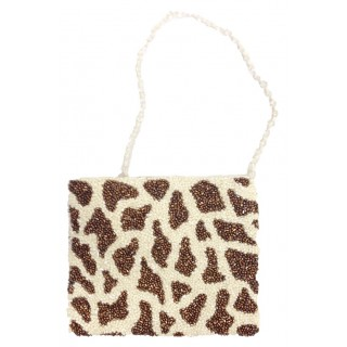 Cross Body Pouch with Giraffe Print