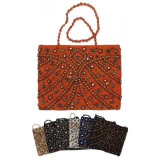 Crossbody Beaded Purse