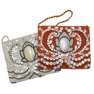 Crossbody Mother of Pearl Purse