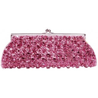 Dazzling Pearl and Crystal Encrusted Clutch