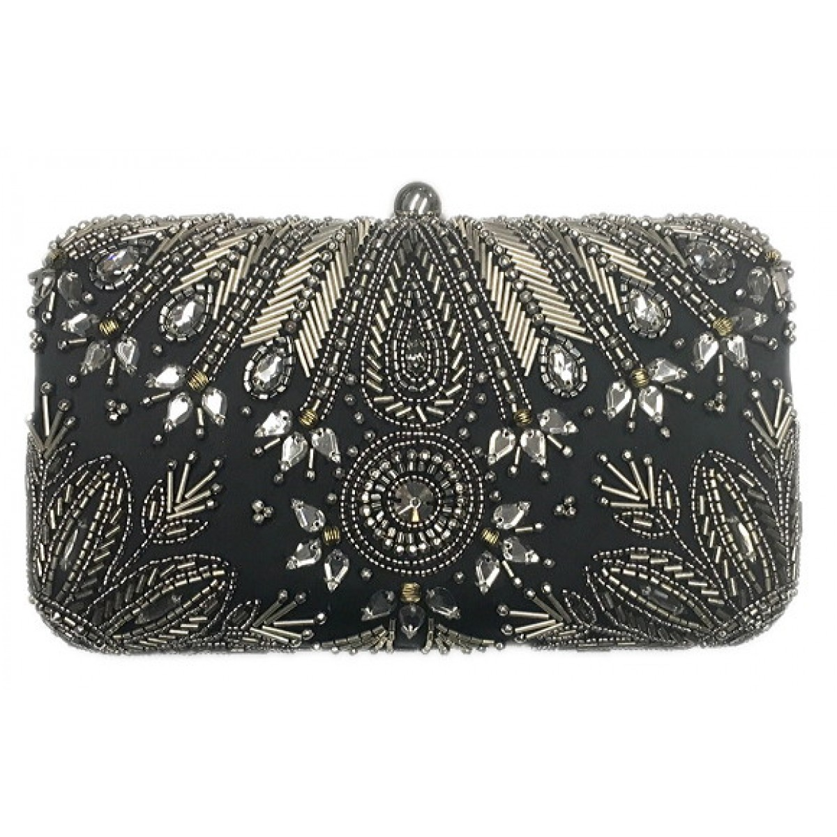 Designer Beaded Clutch