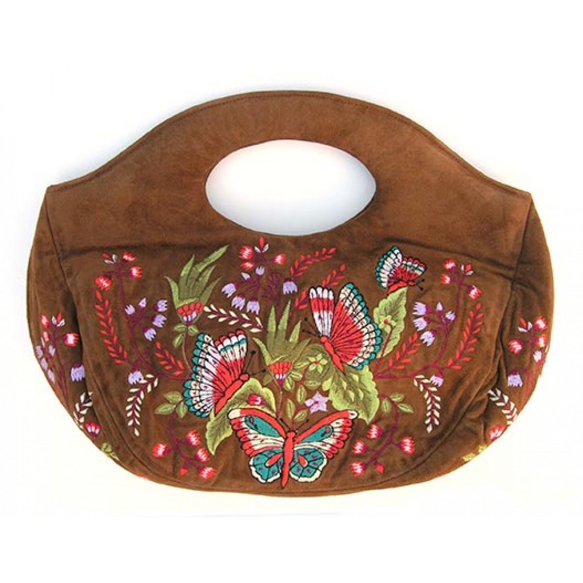 Designer Hamdmade Butterfly Hand Bag