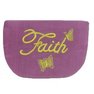 Embroidered Cosmetic Pouch