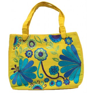 Embroidered Large Tote