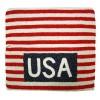 Fully Beaded US Flag Bag