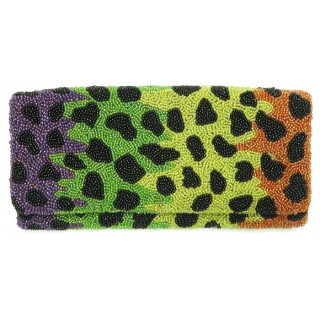 Fold Over Clutch Animal Print
