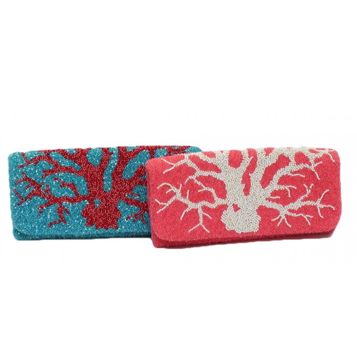 Fold Over Clutch Coral Reef