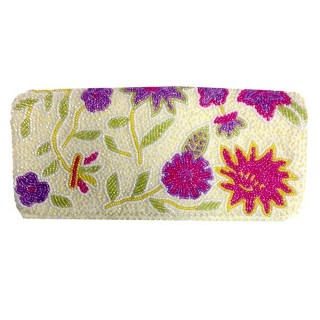 Fold Over Clutch Floral Design