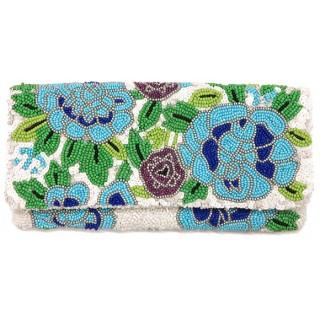Fold Over Clutch Floral Design