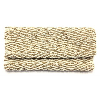 Fold Over Clutch Yarn and Bead