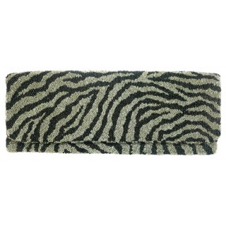 Fold Over Clutch Zebra Design
