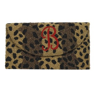 Cheetah Print With Monogram