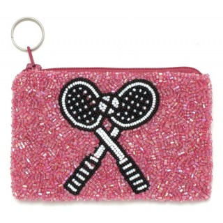 Fully Beaded Tennis Bag