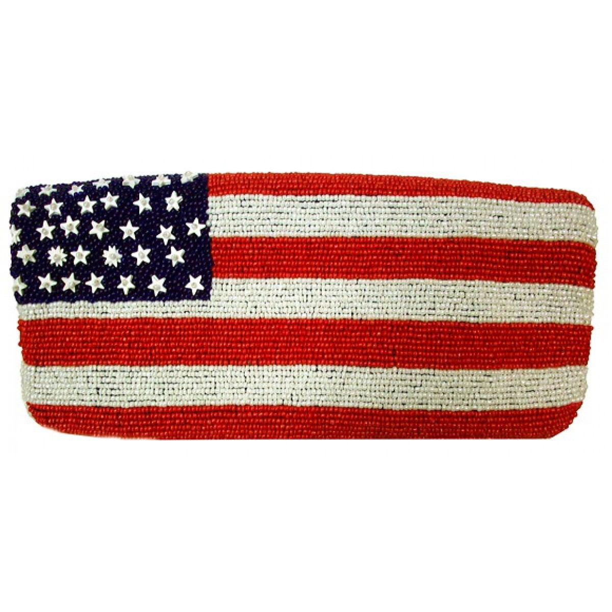 Fully Beaded US Flag Bag
