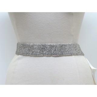 Glitter Beaded Waist Belt