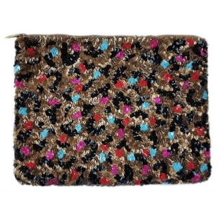 IPad Case Sequin Leopard