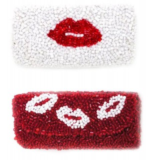 Lips and Kiss Lipstick Holder