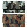 Camouflage Beaded Large Clutch