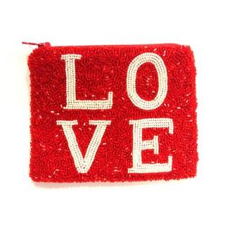 Medium Coin Purse; LOVE