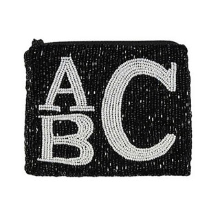 Monogramed Coin Purse