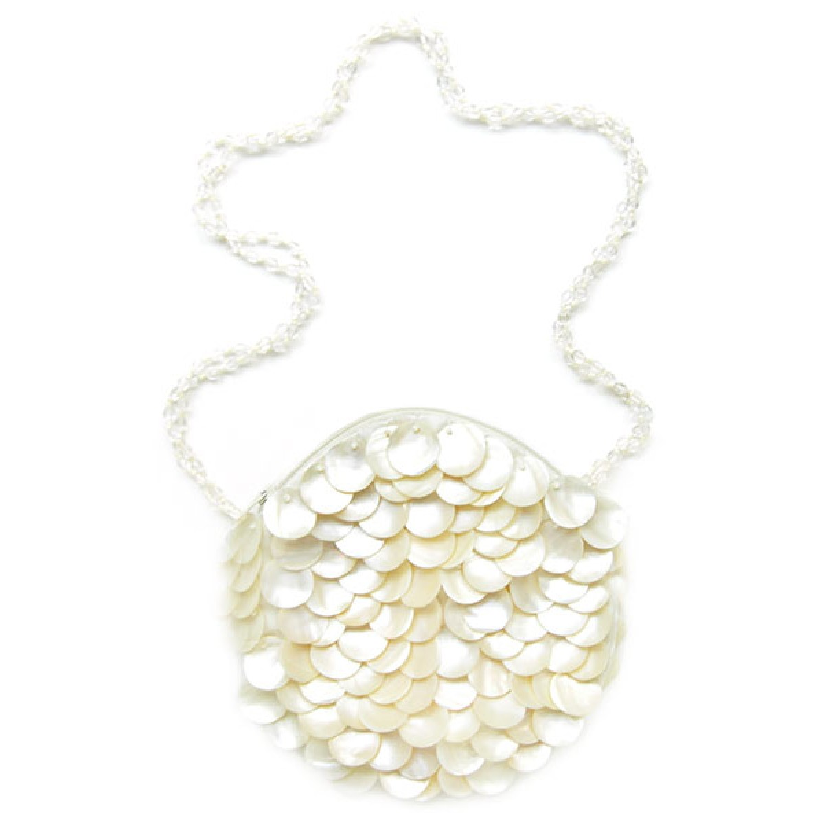 Mother of Pearl Pailettes Bag