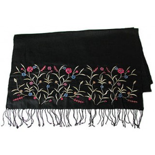 Pashmina Shawl With Hand Embroidery