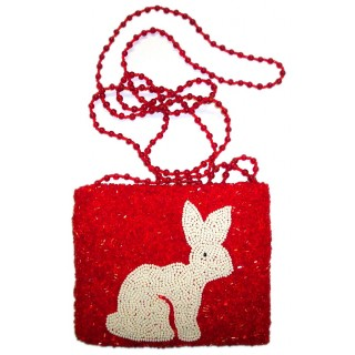 Rabbit Cross Body Pouch