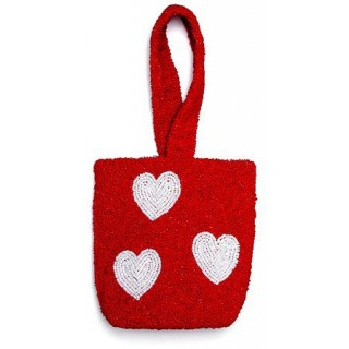 Red Hearts Bag