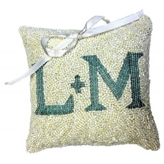 Ring Pillow With Monogram
